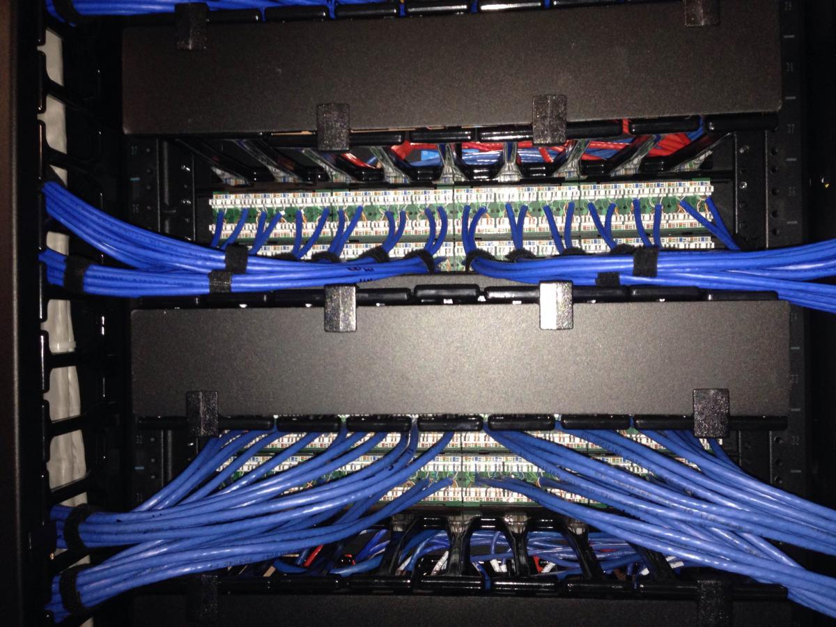 Cat 6a Wiring Worksheet And Diagram 6e Westlake Village Data Center Cat6a Cabinet Server Switch Rh Datatelcabling Com 6