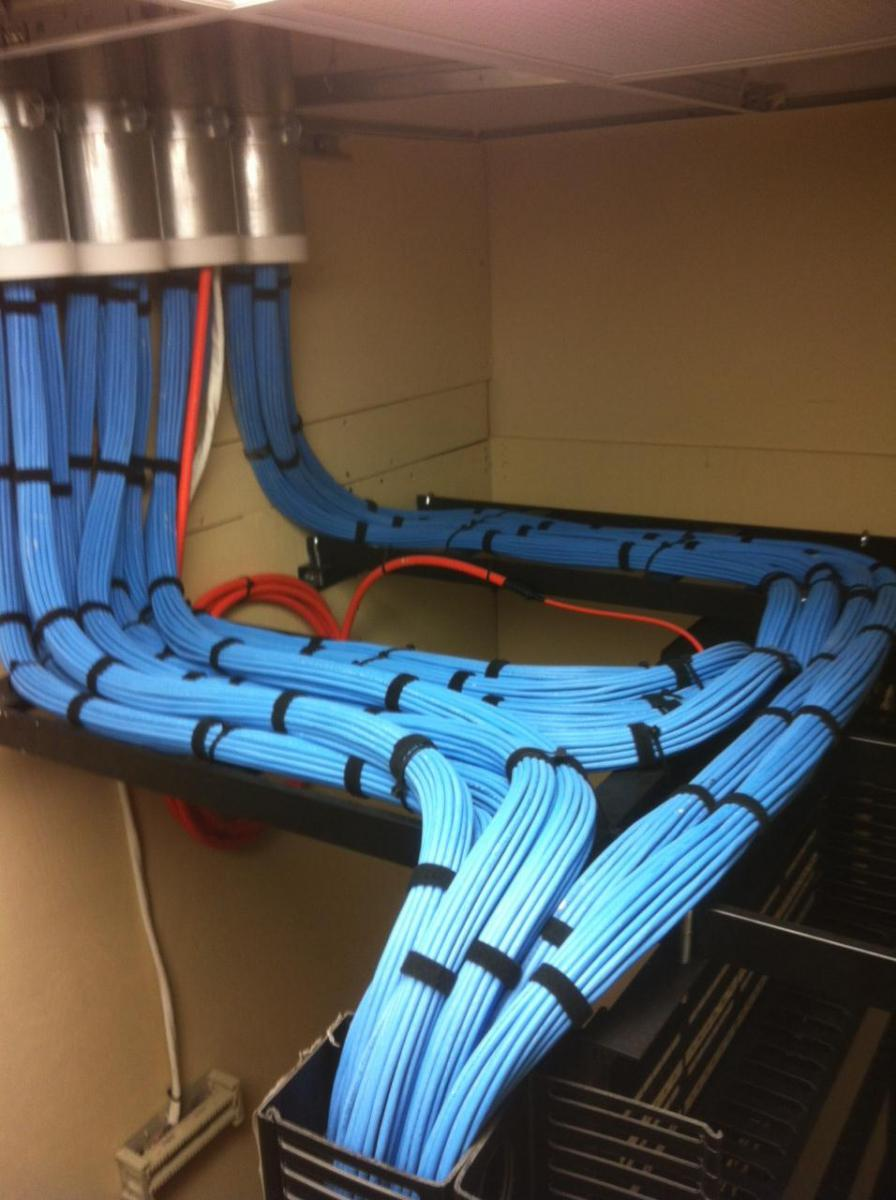 Photo Gallery - DataTel Network Cabling